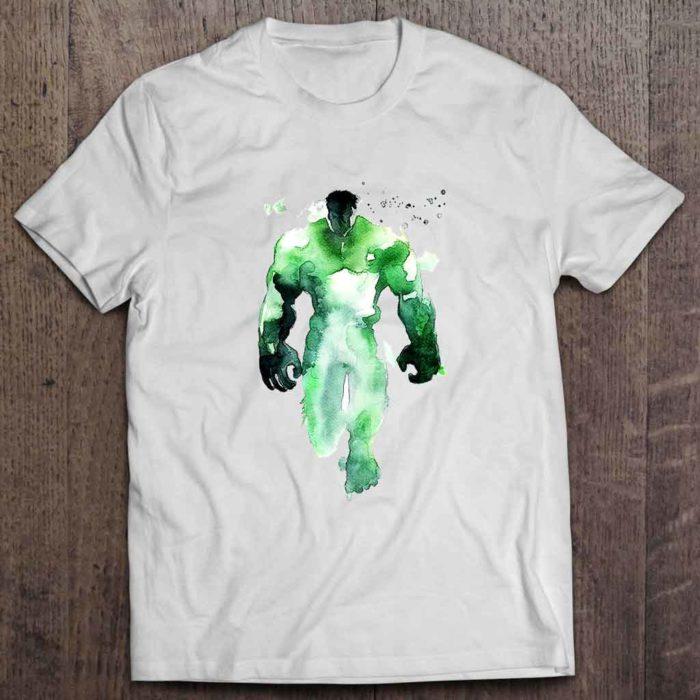 Hulk Logo Man Men's White T-Shirt