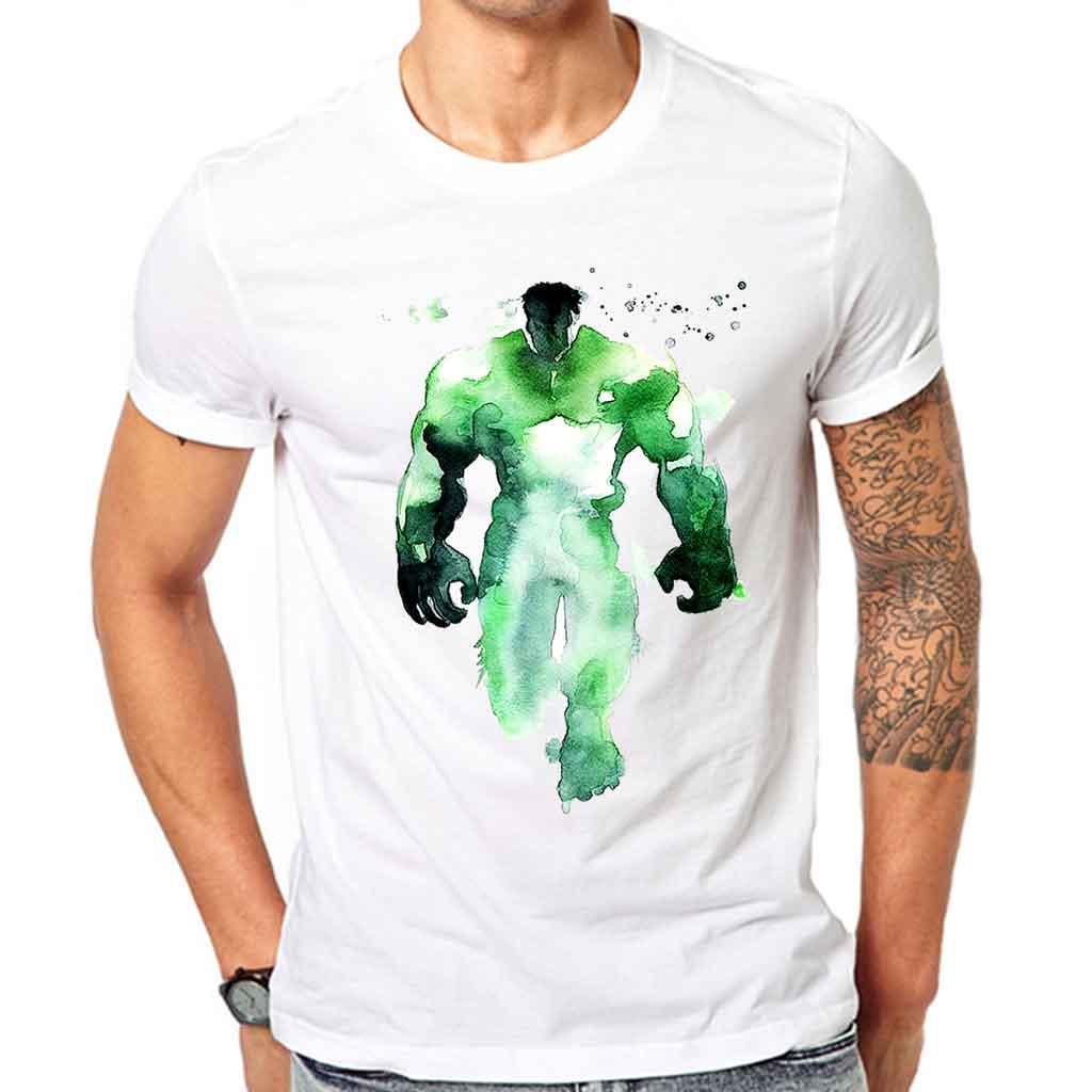 Hulk Logo Man Men S T Shirt Gullprint